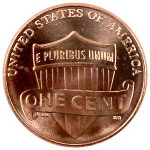 2012 D Lincoln Shield Cent UNC
