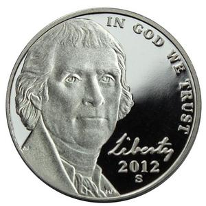 2012 S Jefferson Nickel PF