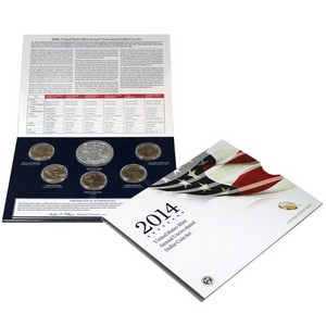 2014 United States Mint Annual Uncirculated Dollar Coin Set