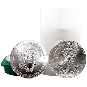2011 Silver American Eagle BU Tube of 20