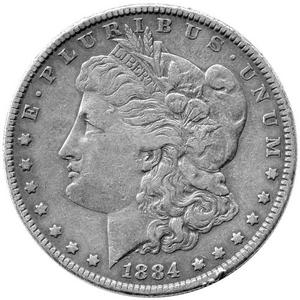 1921 S Morgan Silver Dollar F