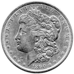 1921 S Morgan Silver Dollar EF