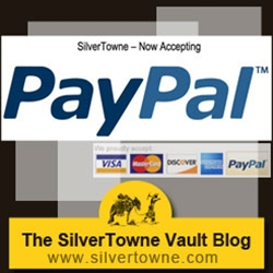 For Your Convenience – SilverTowne Now Accepting PayPal™