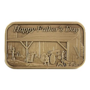 Fathers Day Barn Bronze Bar