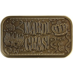Mardi Gras Bronze Bar