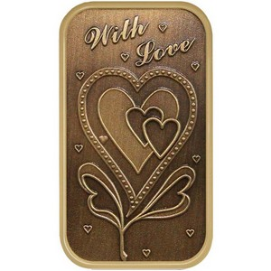 With Love Bronze Bar