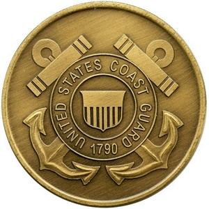 US Coast Guard Bronze Medallion