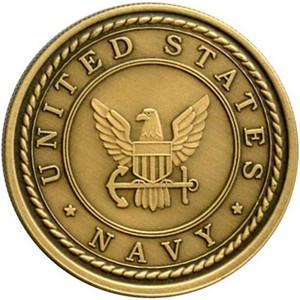 US Navy Bronze Medallion
