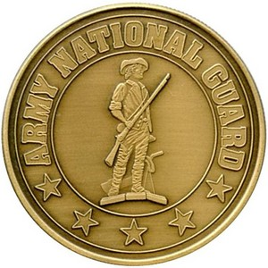 US Army National Guard Bronze Medallion
