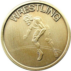 Wrestling Bronze Medallion