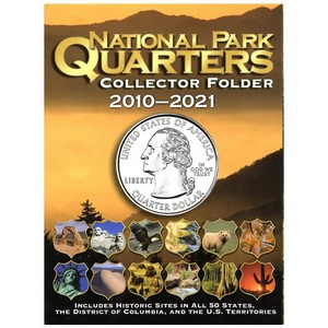 Whitman National Parks Quarter Folder