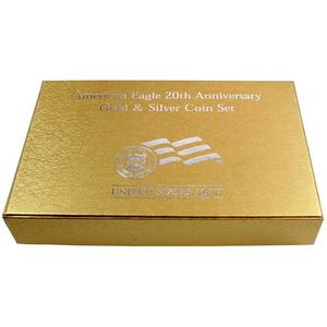 OGP Box for United States Mint American Eagle 20th Anniversary Gold and Silver Coin Set