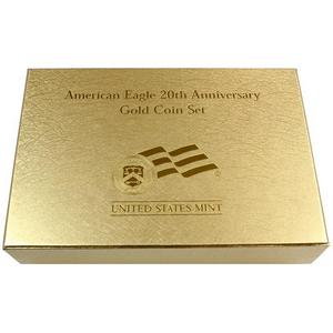 OGP Box for United States Mint American Eagle 20th Anniversary Gold Coin Set