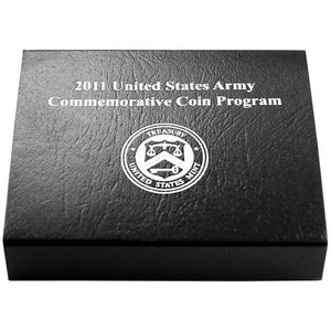 2011 OGP for United States Mint Army Uncirculated Clad Half Dollar Commemorative Coin