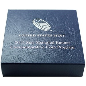 2012 OGP for United States Mint Star-Spangled Banner Uncirculated Silver Dollar Commemorative Coin