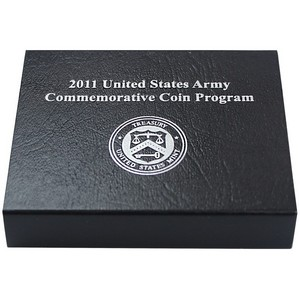 2011 OGP for United States Mint Army Commemorative Uncirculated Silver Dollar