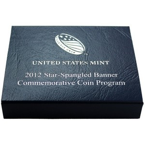 2012 OGP for United States Mint Star-Spangled Commemorative Proof Silver Dollar Coin