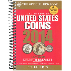 2014 The Official Red Book Guide of U.S. Coins Spiral Bound