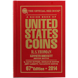 2014 The Official Red Book Guide of U.S. Coins Hard Cover