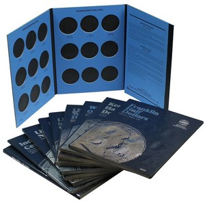 Whitman Coin Folders - 10 Folders Our Choice