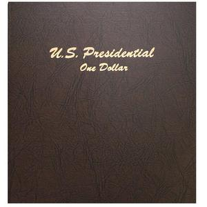 Dansco 2007-2015 Presidential Dollars P and D Mint - 7184