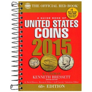 2015 The Official Red Book Guide of U.S. Coins Spiral Bound