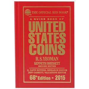 2015 The Official Red Book Guide of U.S. Coins Hard Cover
