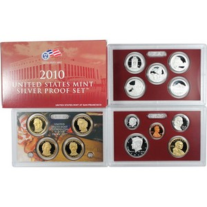 2010 S 14pc Silver Proof Set