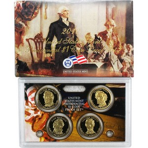 2010 S Presidential Dollars Proof Set
