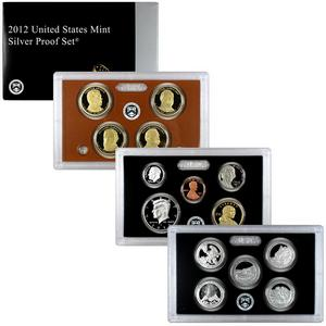 2012 14pc Silver Proof Set