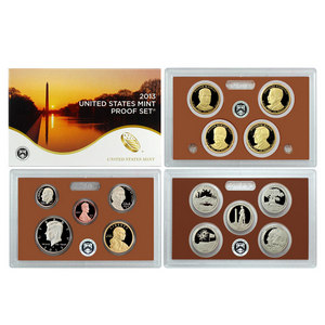 2013 S 14pc Clad Proof Set