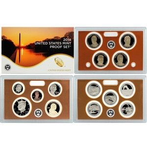 2014 S 14pc Clad Proof Set