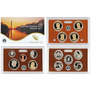 2015 S 14pc Clad Proof Set