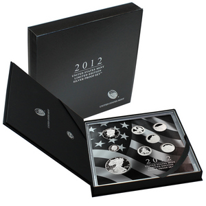 2012 United States Mint Limited Edition 8pc Silver Proof Set