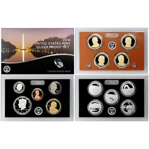 2014 S 14pc Silver Proof Set