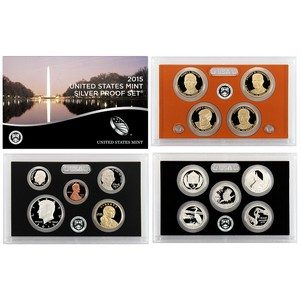 2015 S 14pc Silver Proof Set