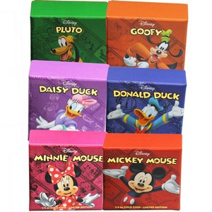 2014 Niue Gold Disney Characters Mickey Mouse and Friends Limited Edition Quarter Ounce Proof in OGP 6pc Set