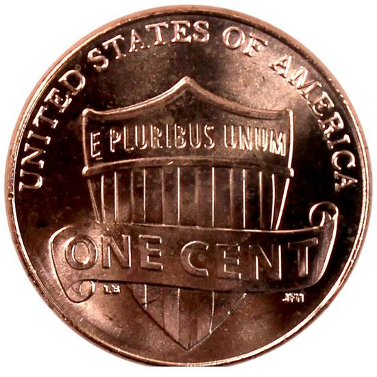 2012 P Lincoln Shield Cent UNC