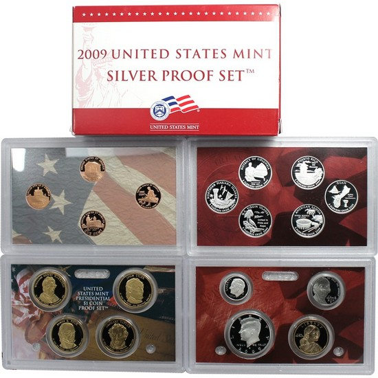 2009 S 18pc Silver Proof Set