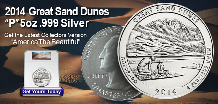 Great Sand Dunes 5oz Silver ATB
