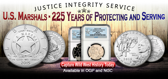 U.S. Marshals Service 2015 Commemorative Coins