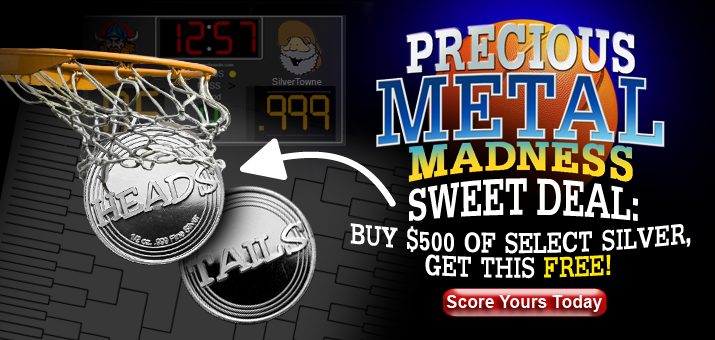 Precious Metal Madness Commemorative Coins