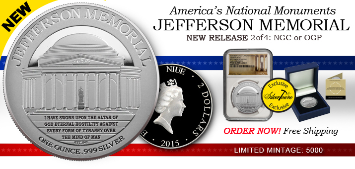 2015 America's National Monuments Series - 2nd Release - Jefferson Memorial