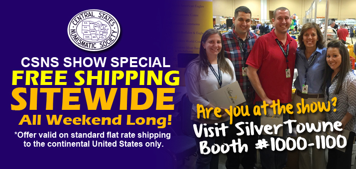 Sitewide Free Flat Rate Shipping - No Minimums!
