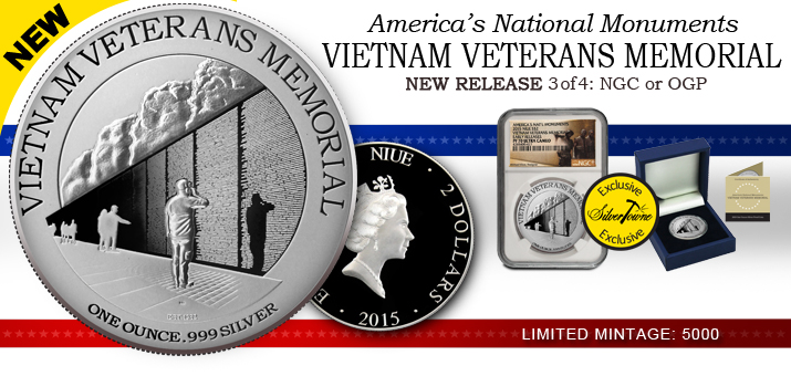 2015 America's National Monuments Series - Vietnam Veterans Memorial Released!