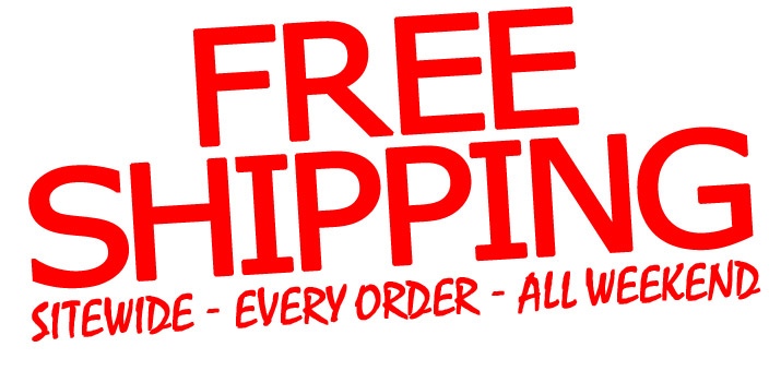 Site-wide Flat Rate Free Shipping!