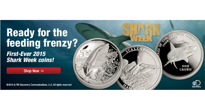 Discovery Shark Week Coins
