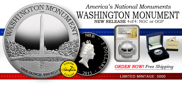 2015 America's National Monuments Series - Washington Monument Released!