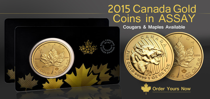 Canadian Gold in Assay Cards