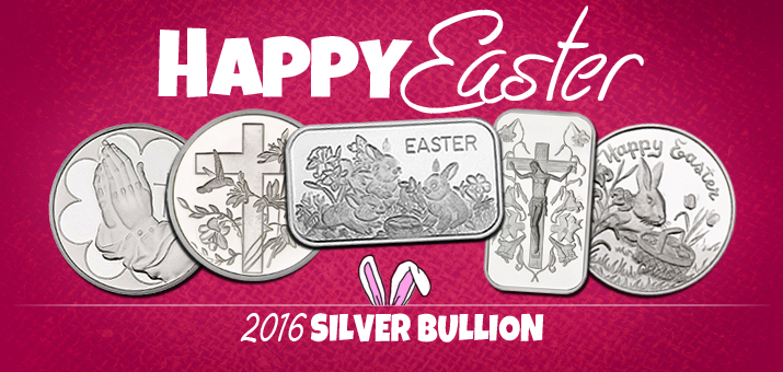Easter Theme Silver Bullion